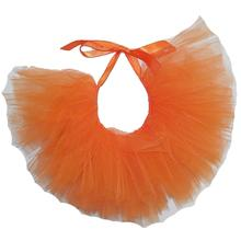 Orange Tulle Dog Tutu by Pawpatu