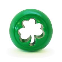 Orbee-Tuff Nooks Ball Dog Toy by Planet Dog - Shamrock