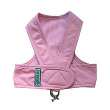 Original Cloak & Dawggie Step-N-Go Fleece Lined Dog Harness - Pink