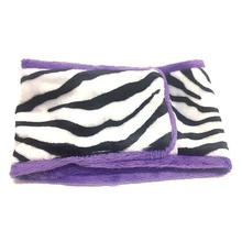 Oscar Newman Wild Child Dog Belly Band - Zebra