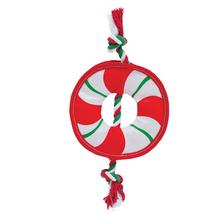 Outward Hound Fire Biterz Holiday Dog Toy - Rope Wreath