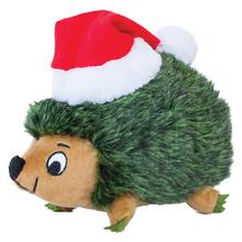 Outward Hound Holiday Hedgehog Junior Dog Toy - Green
