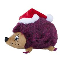 Outward Hound Holiday Large Hedgehog Dog Toy - Red