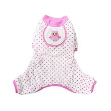 Owl Dog Pajamas - Pink