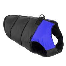 Padded Dog Harness Vest by Gooby - Blue/Black
