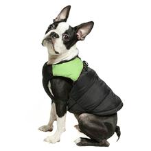 Padded Dog Harness Vest by Gooby - Green/Black