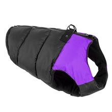 Padded Dog Harness Vest by Gooby - Purple/Black