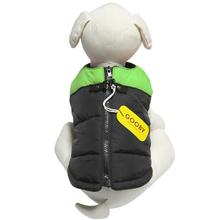 Padded Dog Vest by Gooby - Green/Black