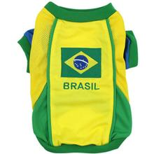 Parisian Pet Team Brazil Dog Jersey