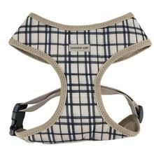 Parisian Pet Freedom Dog Harness - Khaki Plaid
