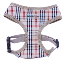 Parisian Pet Freedom Dog Harness - Tan Plaid