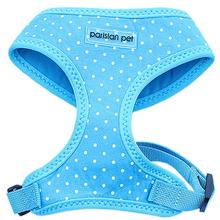 Parisian Pet Polka Dot Freedom Dog Harness - Blue
