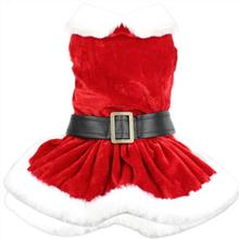 Parisian Pet Mrs. Claus Winter Dog Dress