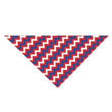 Patriotic Chevron Dog Bandana