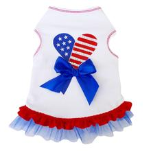 Patriotic Heart Tank Dog Dress