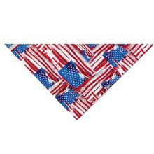 Patriotic Painted Flag Dog Bandana