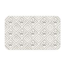 Paw Ikat Pet Placemat by TarHong - Natural