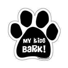 Paw Magnet - My Kids Bark