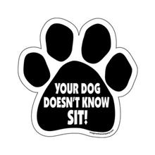 Paw Magnet - Your Dog Doesn't Know Sit!