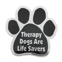 Paw Magnet - Therapy Dogs are Life Savers