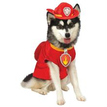 Paw Patrol Marshall The Fire Dog Pet Costume by Rubies