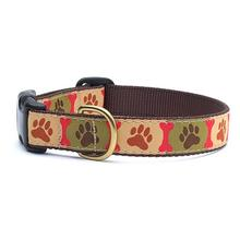Pawprints Dog Collar by Up Country