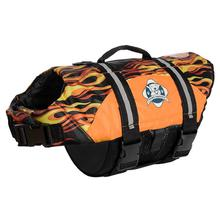 Paws Aboard Designer Dog Life Jacket - Flames