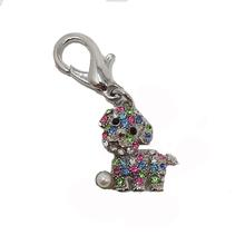 Pearl Dog D-Ring Pet Collar Charm by foufou Dog - Multi-Colored