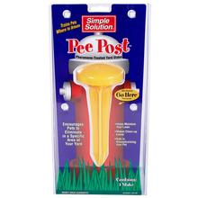 Pee Post Pheromone -Treated Potty Training Yard Stake