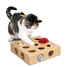 Peek-and-Play Cat Toy Box by SmartCat®