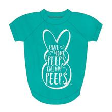 Peeps Dog Shirt - Call My Peeps