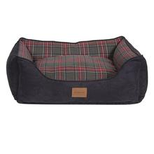 Pendleton® Pet Grey Stewart Tartan Kuddler Dog Bed