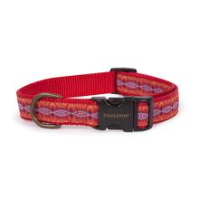 Pendleton Pet Diamond River Dog Collar - Scarlet
