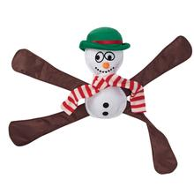 Pentapulls Dog Toy - Holiday Snowman