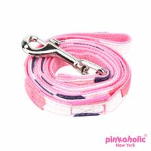 Peonies Dog Leash by Pinkaholic - Pink