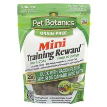 Pet Botanics Mini Training Rewards Grain-Free Dog Treats - Duck & Bacon