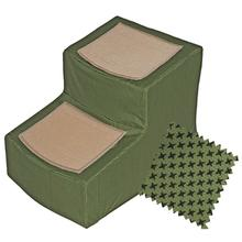 Pet Gear Designer Pet Step with Removable Cover - Sage