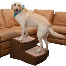 Pet Gear Easy Step Extra Wide Pet Steps - Chocolate