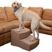 Pet Gear Easy Step Extra Wide Pet Steps - Tan