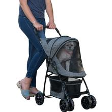 Pet Gear Happy Trails Dog Stroller - Dark Platinum