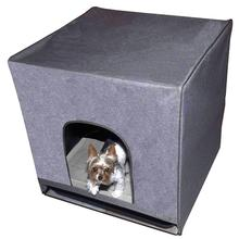 Pet Gear Pro Pawty Indoor Dog Potty - Soft Charcoal