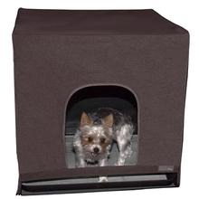 Pet Gear Pro Pawty Indoor Dog Potty - Espresso