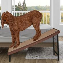 Pet Gear Ultra-Lite Free-Standing Dog Ramp - Chocolate