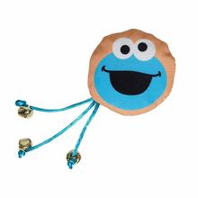 Pet Krewe Sesame Street Cat Toy - Cookie Monster