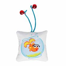 Pet Krewe Sesame Street Cat Toy - Elmo's Dorothy Fish
