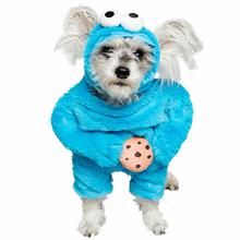 Pet Krewe Sesame Street Cookie Monster Dog Costume