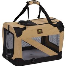Pet Life 360° Vista View Pet Dog Crate - Khaki
