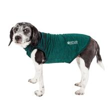 Pet Life ACTIVE 'Aero-Pawlse' Heathered Dog Tank Top T-Shirt - Green