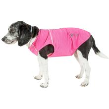 Pet Life ACTIVE 'Aero-Pawlse' Performance Dog Tank Top - Pink