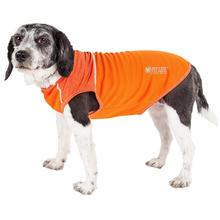 Pet Life ACTIVE Aero-Pawlse Performance Dog Tank Top - Orange